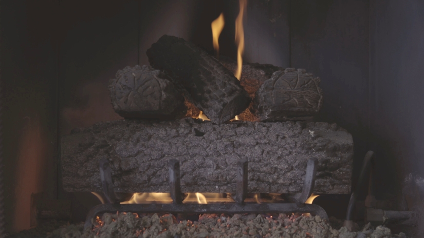 Free Stock Footage – Fireplace – Royalty Free